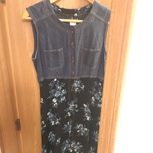 Carole Little Sleeveless Dress Size 12